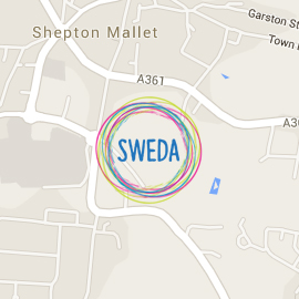 Map showing location SWEDA